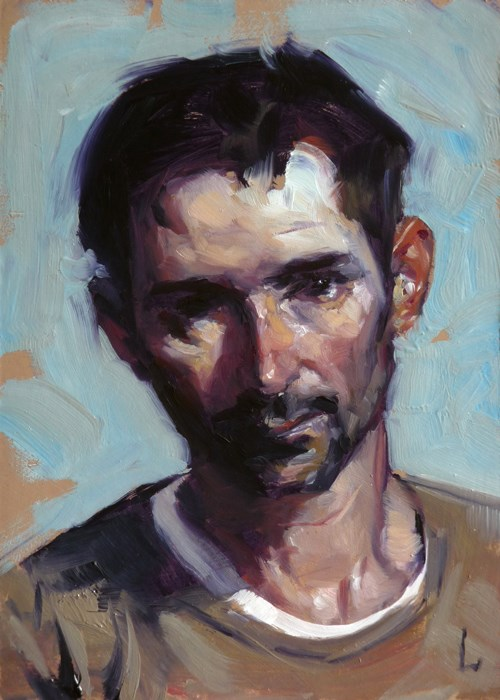 """Rough Cut"" original fine art by John Larriva"