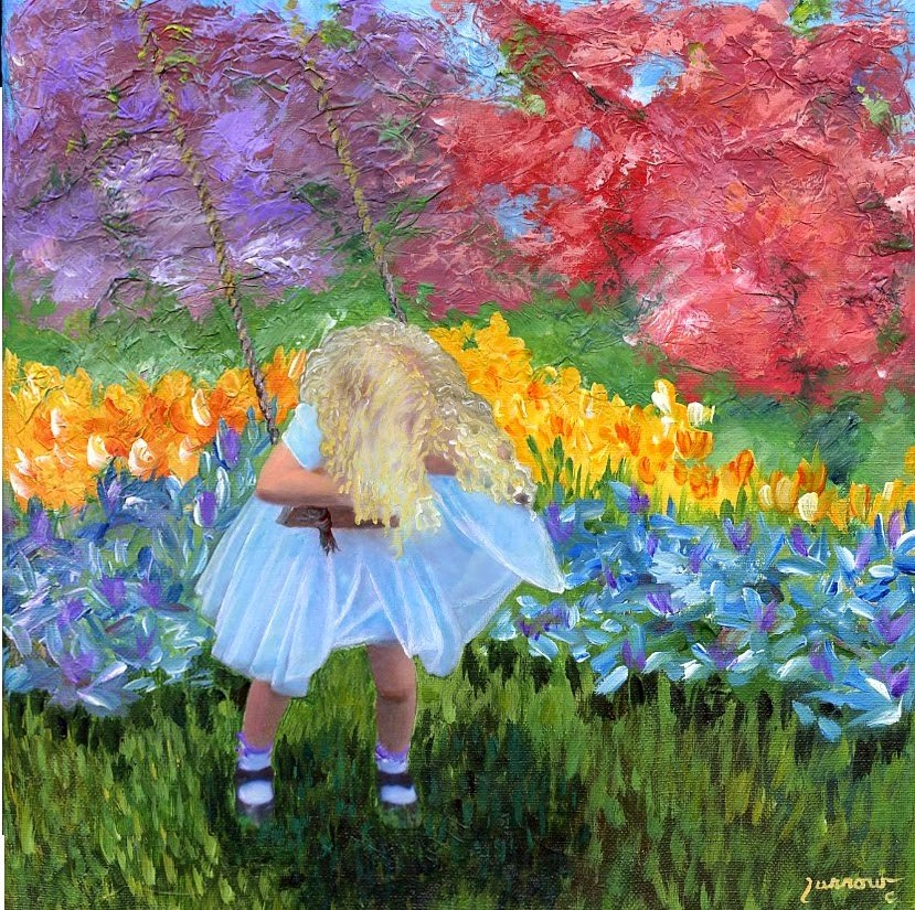 """""""First Post of 2015 with a look toward Spring"""" original fine art by Sue Furrow"""