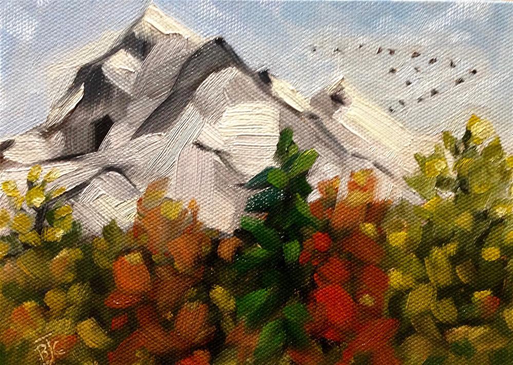 """Autumn"" original fine art by Bobbie Cook"