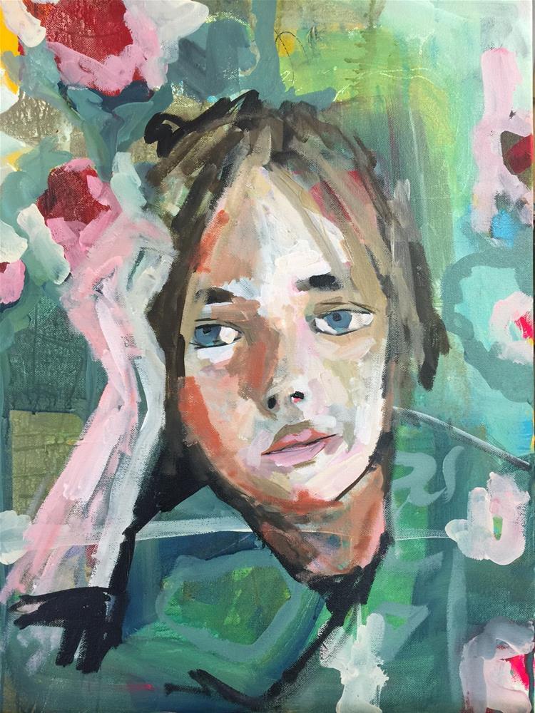 """""""362 Who I Am"""" original fine art by Jenny Doh"""
