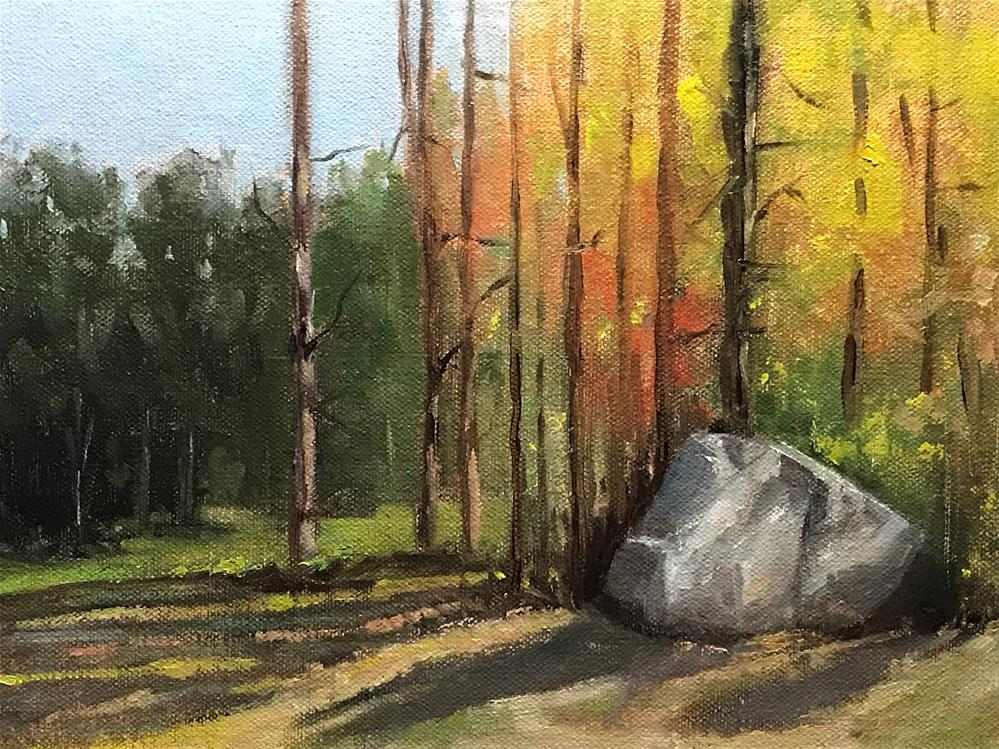 """big rock"" original fine art by Betty Argiros"