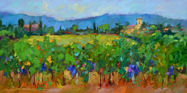 """""""Timeless Tuscany"""" original fine art by Dreama Tolle Perry"""
