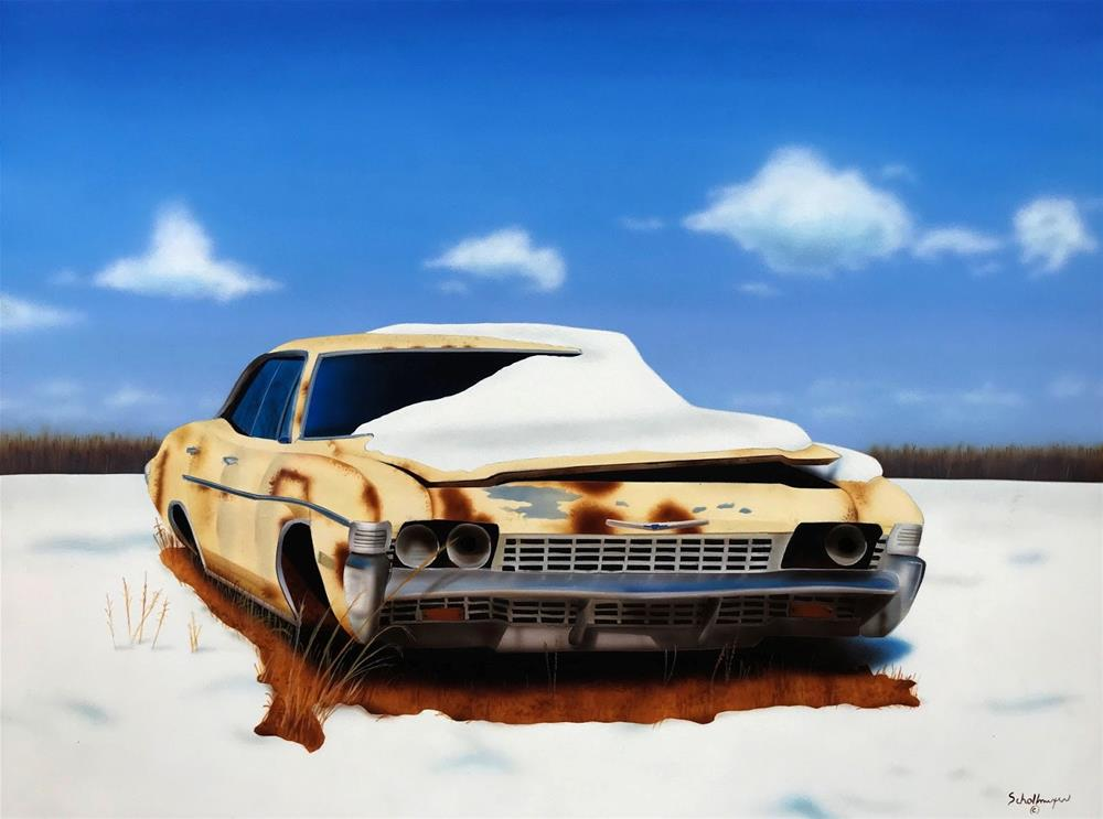 """Frozen in Time"" original fine art by Fred Schollmeyer"