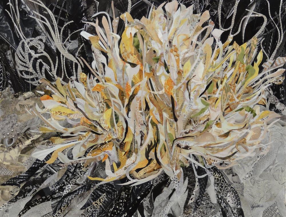 """Prickly Poppy"" original fine art by Cynthia Frigon"