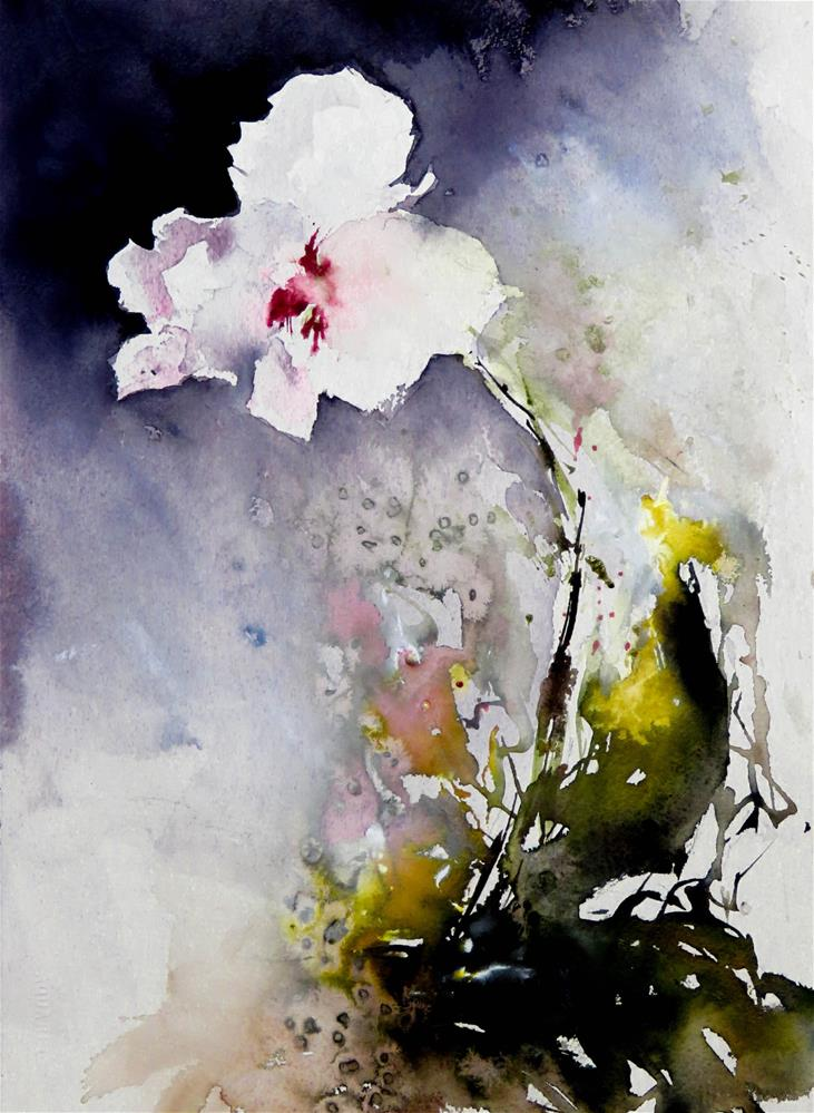 """My Orchid"" original fine art by Christa Friedl"