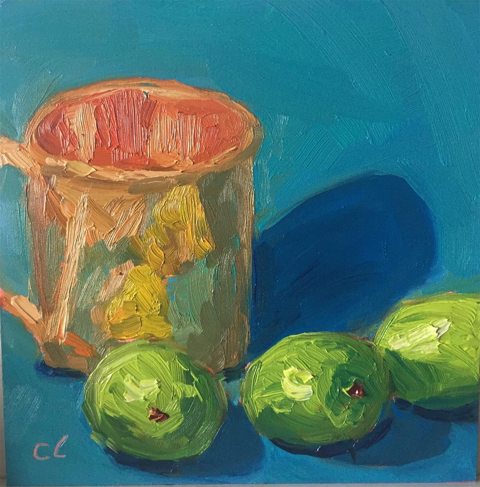 """Mule need some more"" original fine art by Cheree Apalona Lueck"