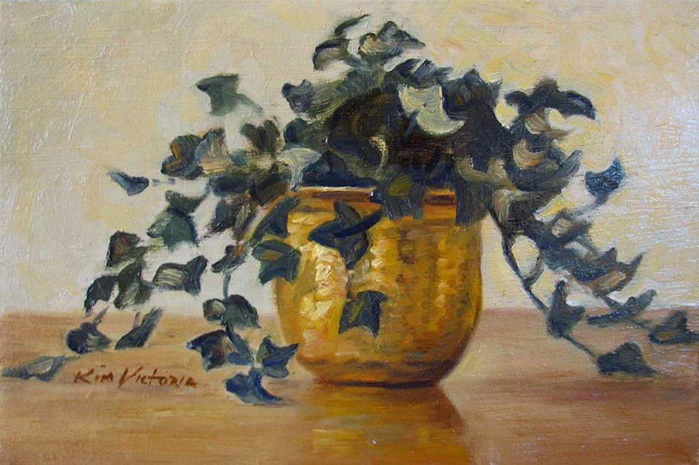 """""""Brass & Ivy"""" original fine art by Kim Victoria"""