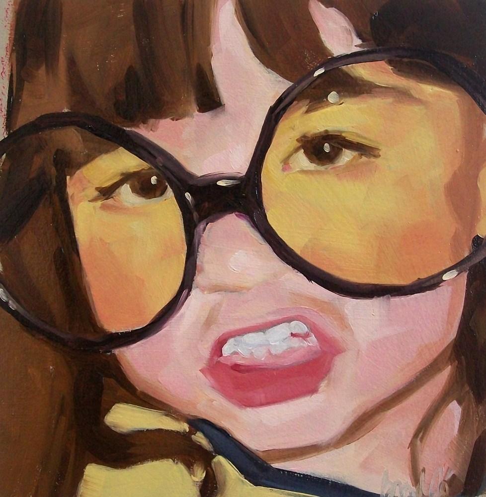 """girl 1"" original fine art by Brandi Bowman"
