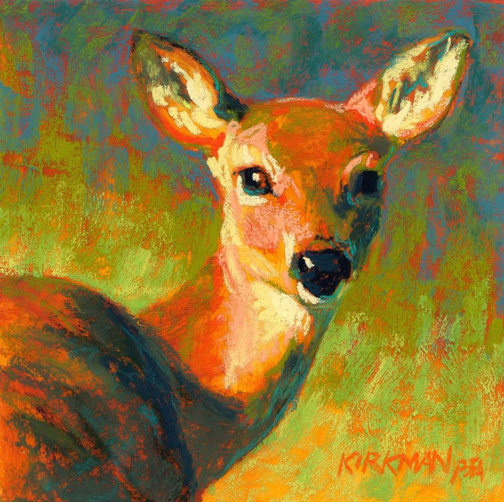 """Dizzie"" original fine art by Rita Kirkman"