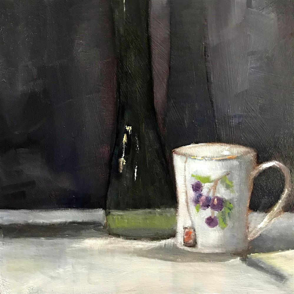 """my favorite cup"" original fine art by Betty Argiros"