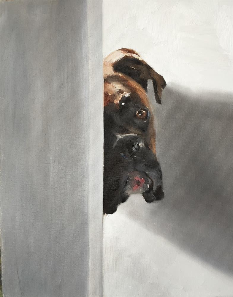 """Hello"" original fine art by James Coates"