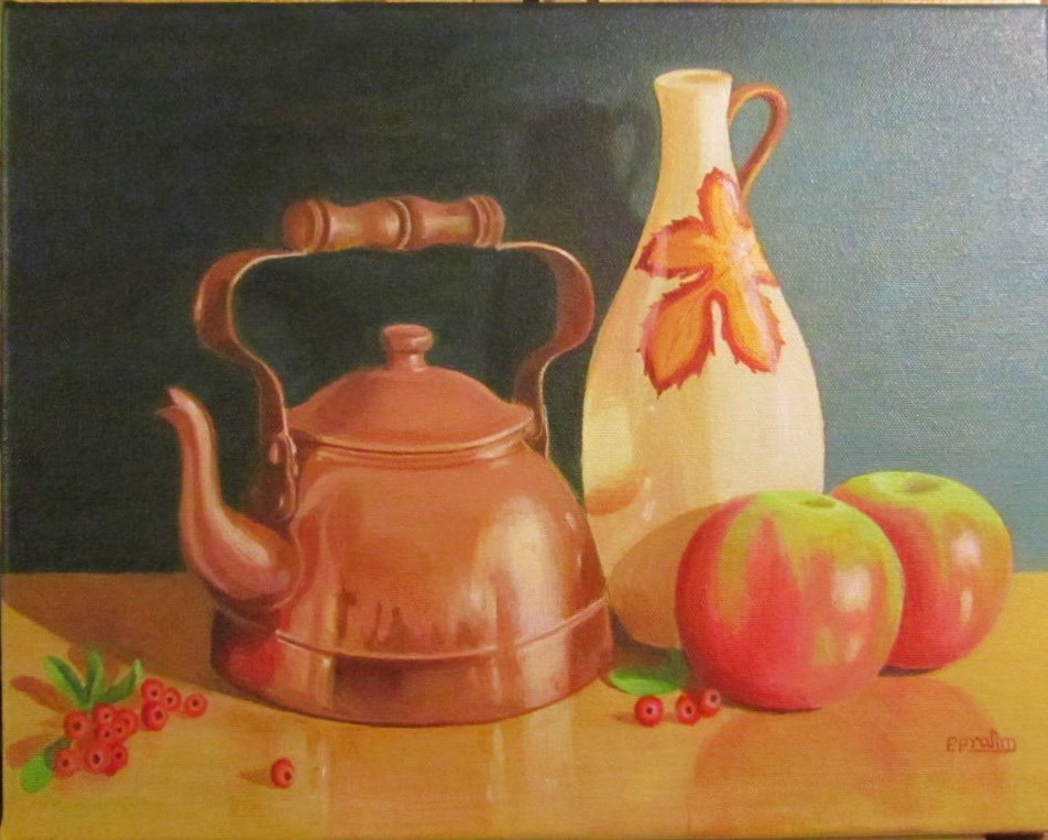 """Still life- 3"" original fine art by Pratima Patel"