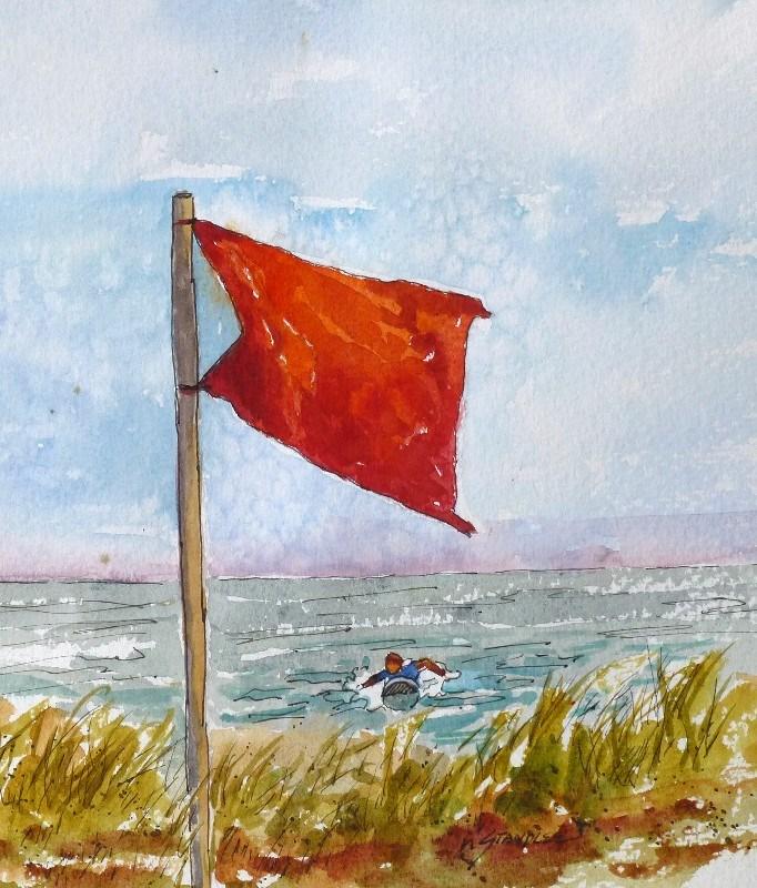 """Defiant 13102"" original fine art by Nancy Standlee"