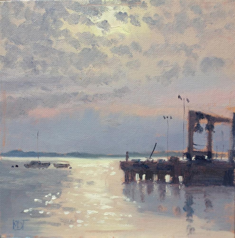 """""""Early Morning, Le Croisic"""" original fine art by Mo Teeuw"""