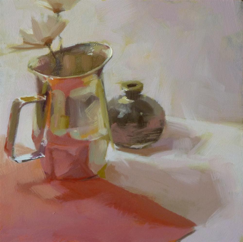 """Cream Pitcher"" original fine art by Ron Ferkol"