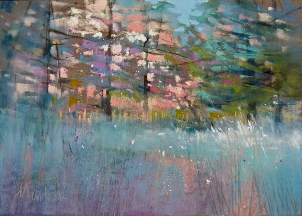 """Leavenworth Meadow"" original fine art by Barbara Benedetti Newton"