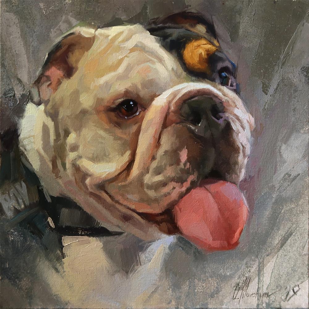 """Charles"" original fine art by Oleksii Movchun"
