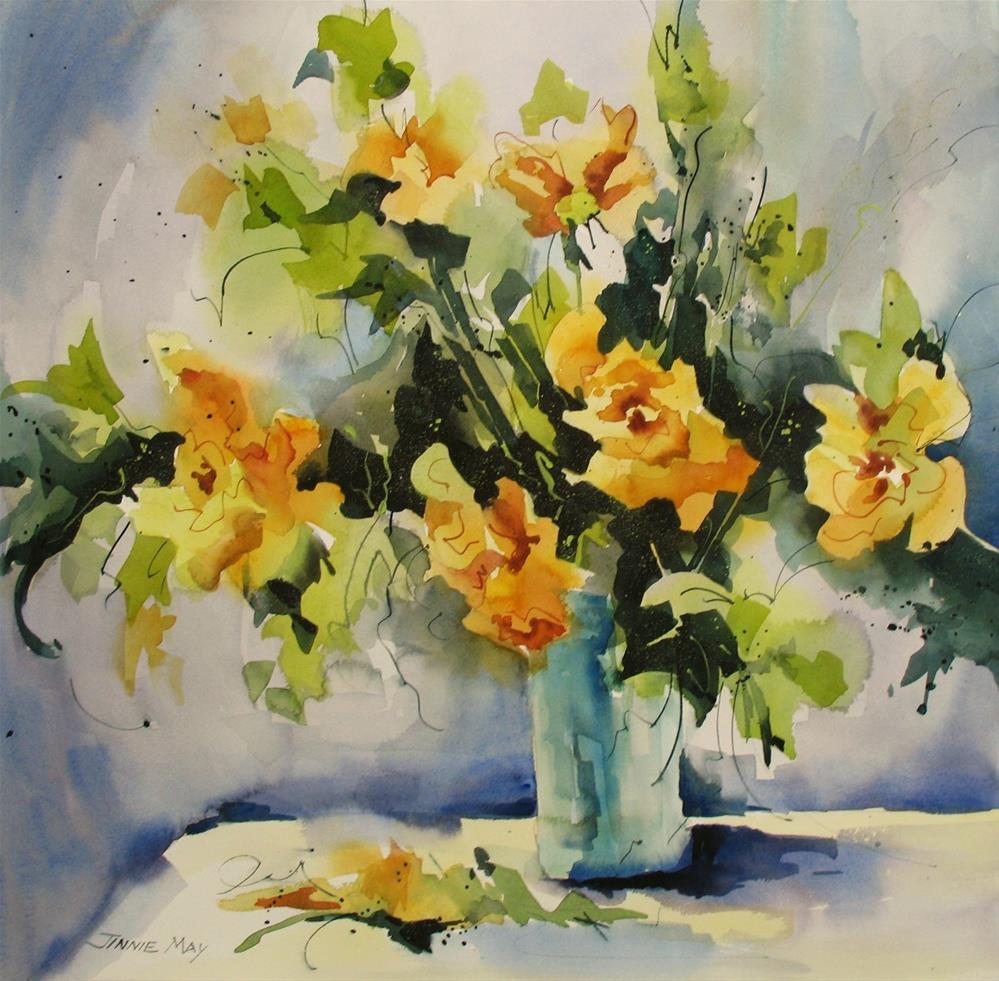 """""""Just Because..."""" original fine art by Jinnie May"""