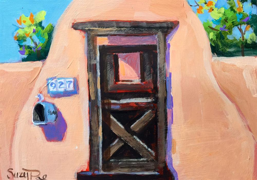 """Santa Fe #27"" original fine art by Suzy 'Pal' Powell"