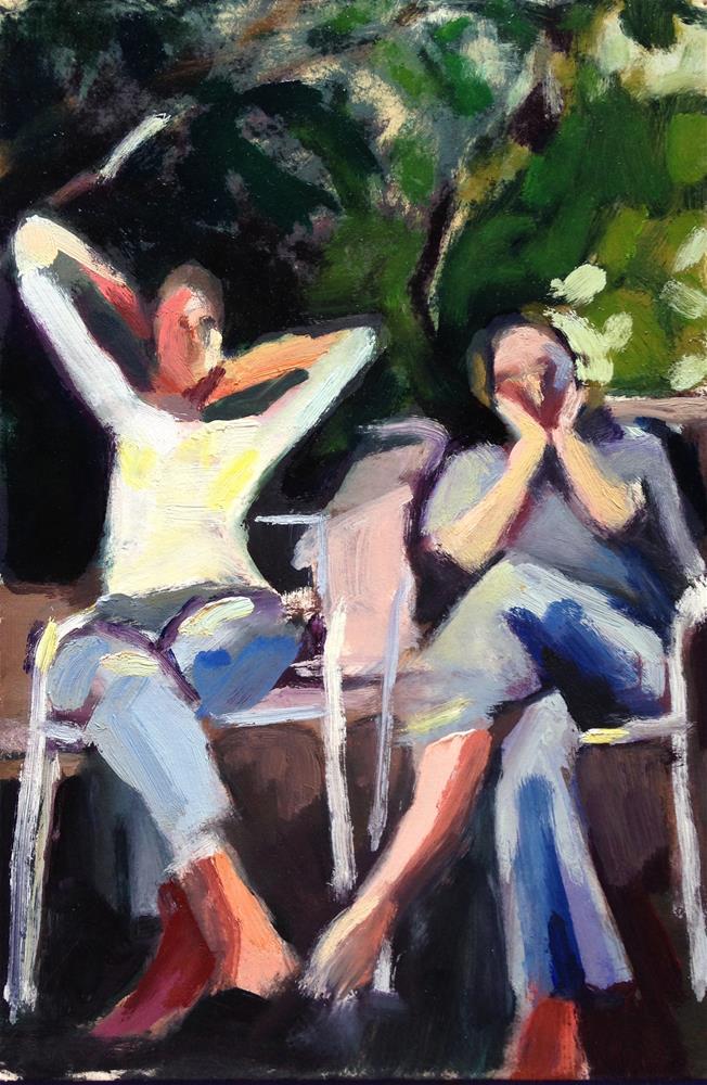 """Mothers"" original fine art by Pamela Hoffmeister"