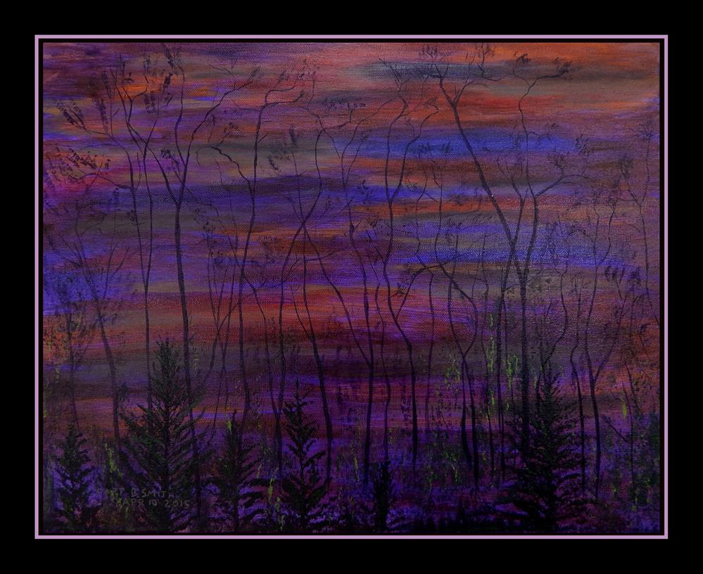 """Shaman's Morning"" original fine art by Captain B Smith"