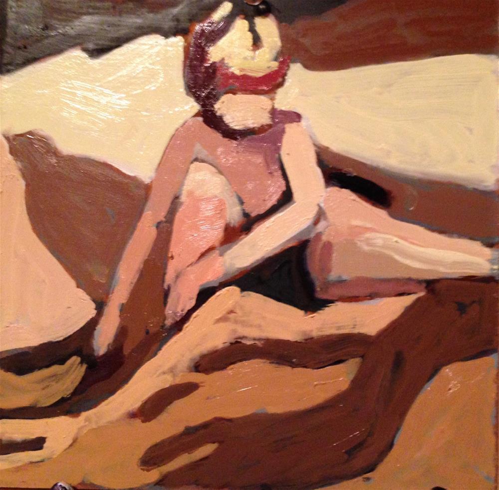 """""""Beach Boy"""" original fine art by Pamela Hoffmeister"""