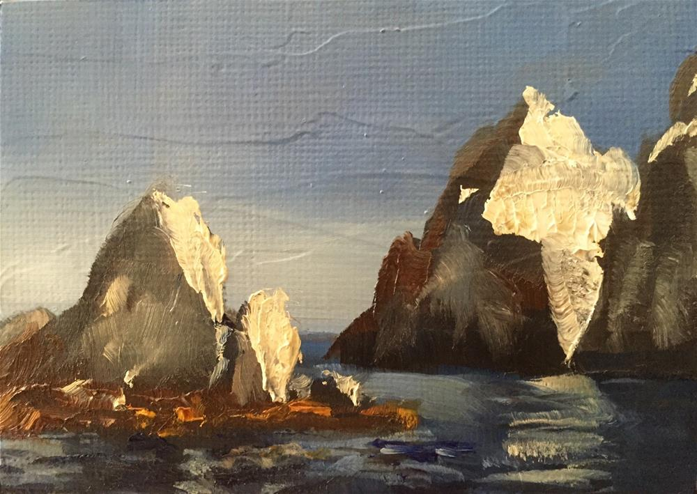 """""""Cabo, Afternoon Light"""" original fine art by Gary Bruton"""