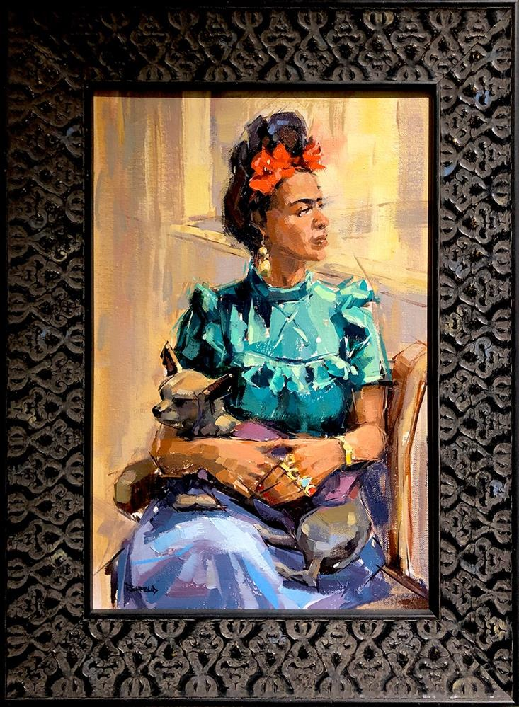 """Frida and Xolo 2"" original fine art by Cathleen Rehfeld"