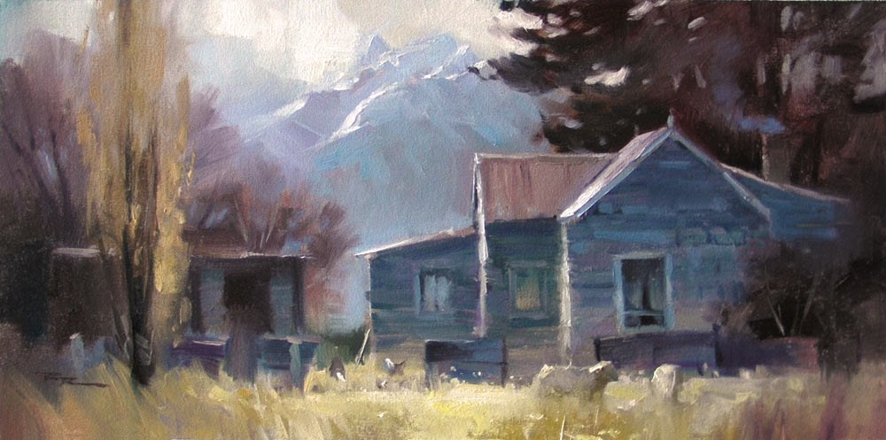 """Homestead"" original fine art by Richard Robinson"