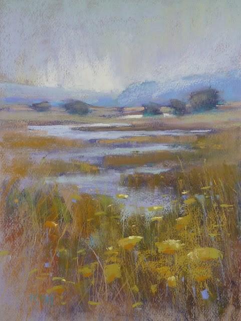 """Behind the Scenes: A California Landscape"" original fine art by Karen Margulis"