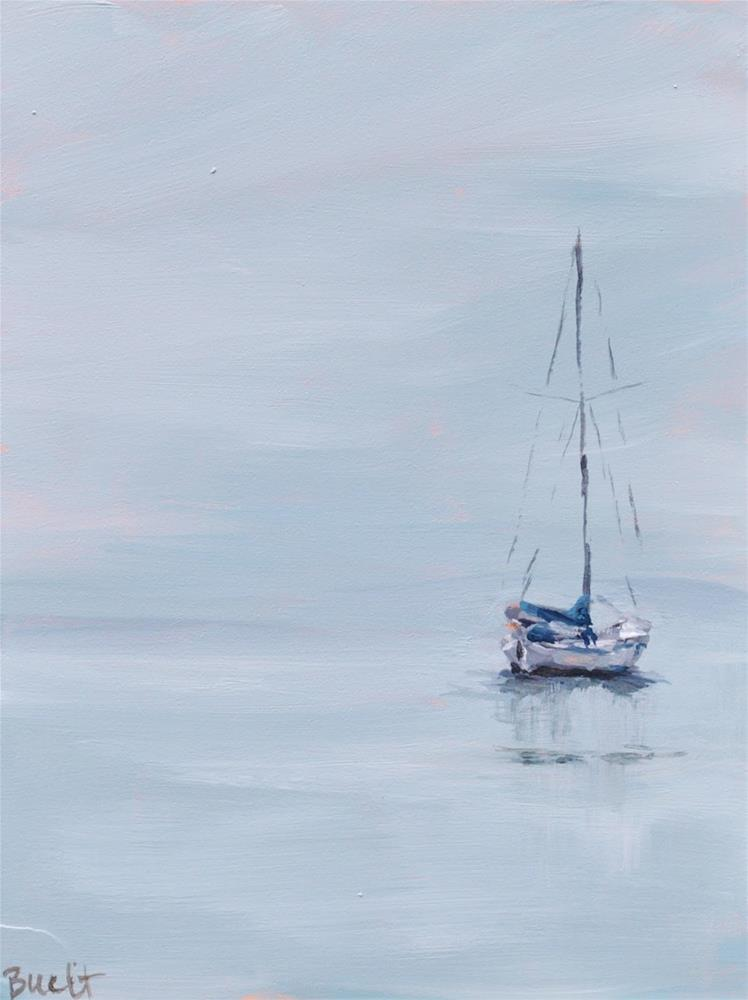 """Misty Silence 2"" original fine art by Shari Buelt"