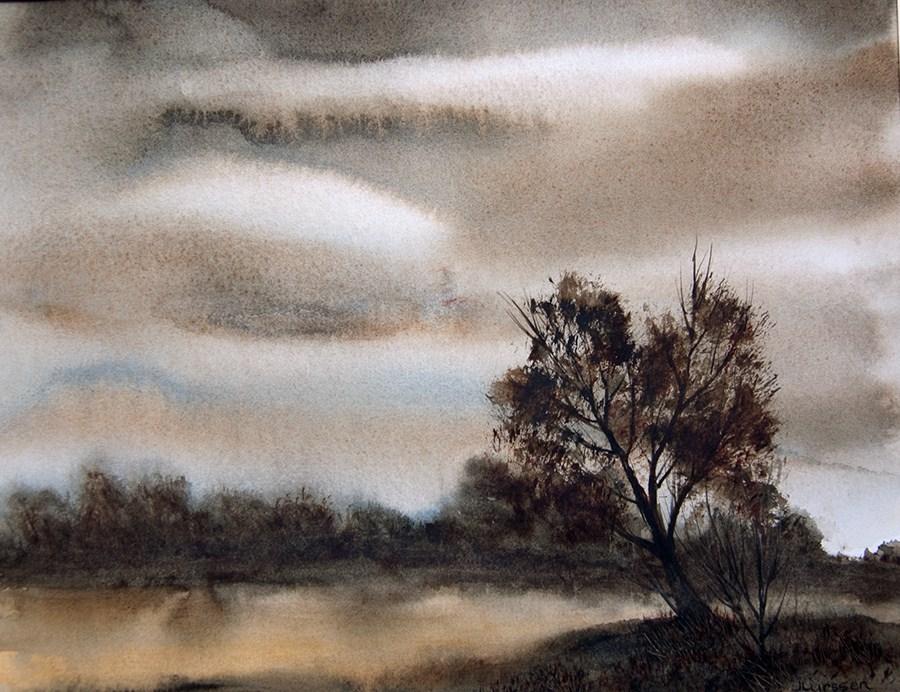 """Morning Light"" original fine art by Jean Lurssen"