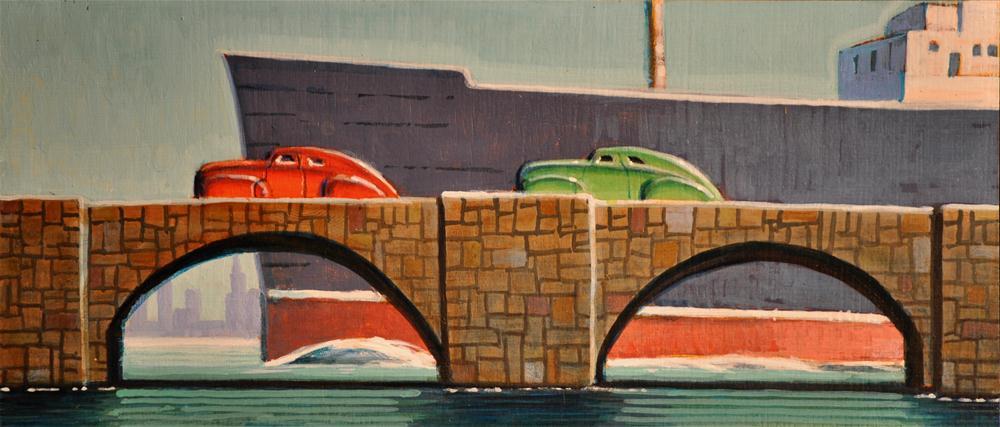 """""""Maiden Voyage"""" original fine art by Robert LaDuke"""