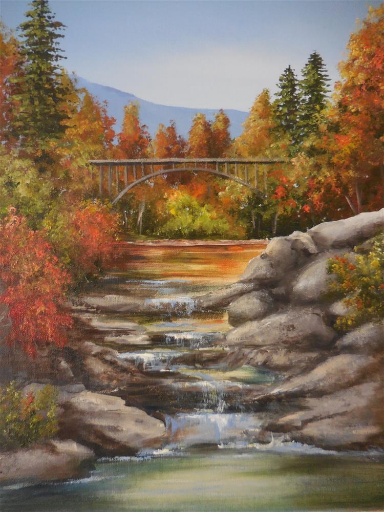 """Autumn"" original fine art by Terri Nicholson"