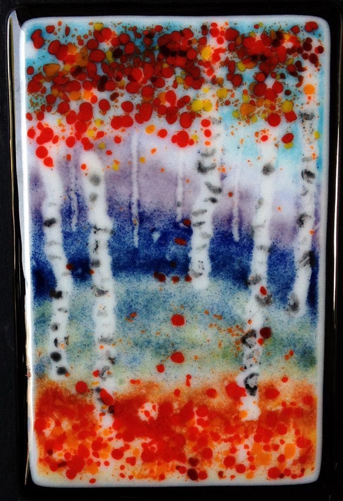 """""""New England Autumn"""" original fine art by Kristen Dukat"""