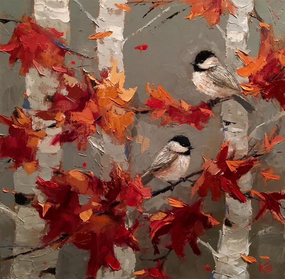 """Between You & Me"" original fine art by Krista Eaton"
