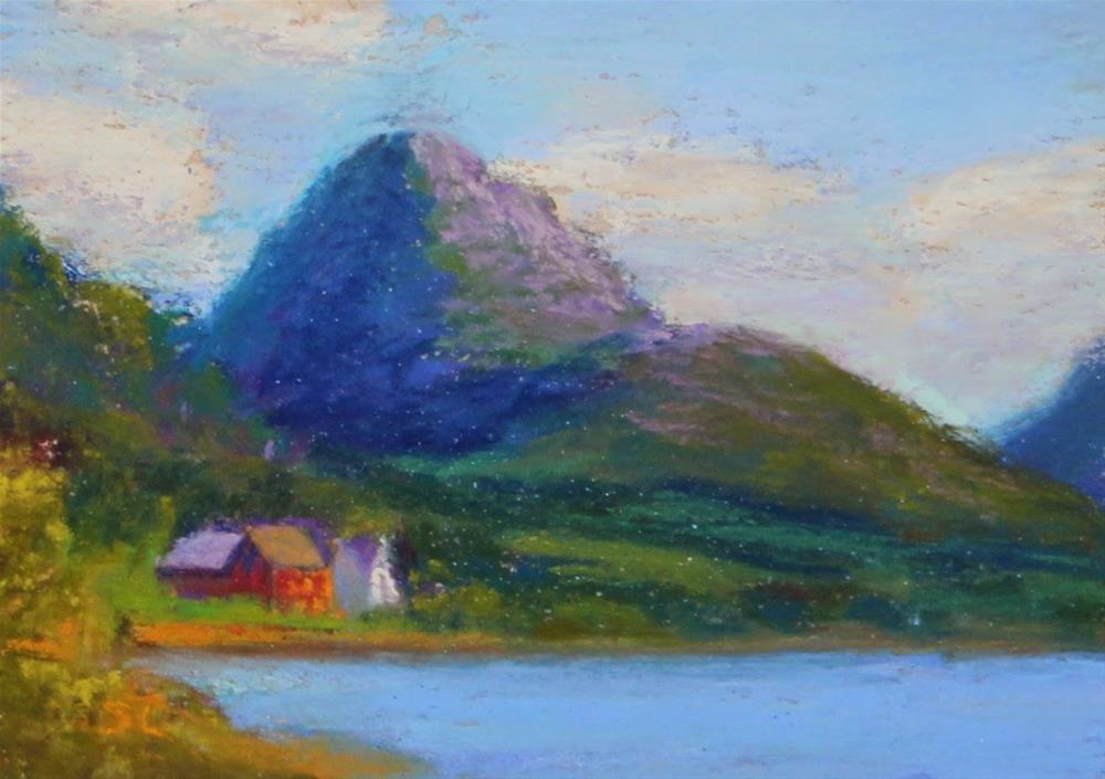 """Tucked Away"" original fine art by Sharon Lewis"