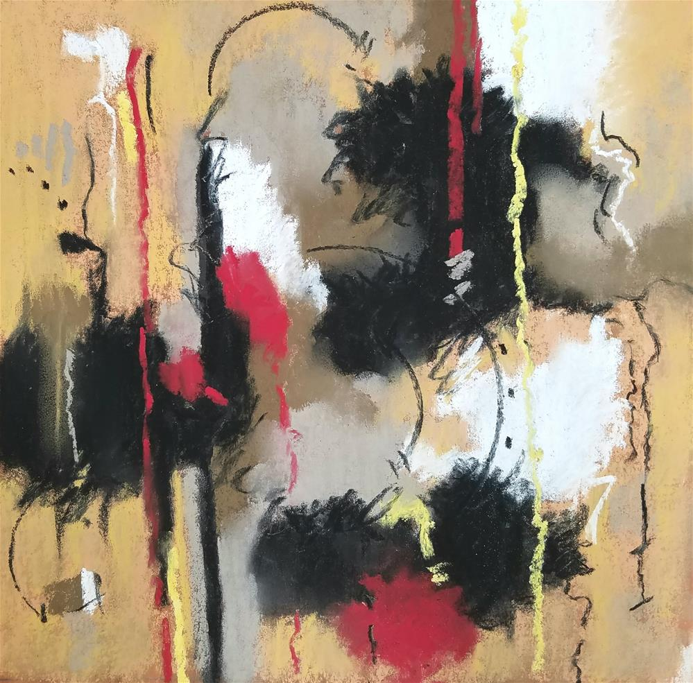 """A Nod to Clifford"" original fine art by Cindy Haase"