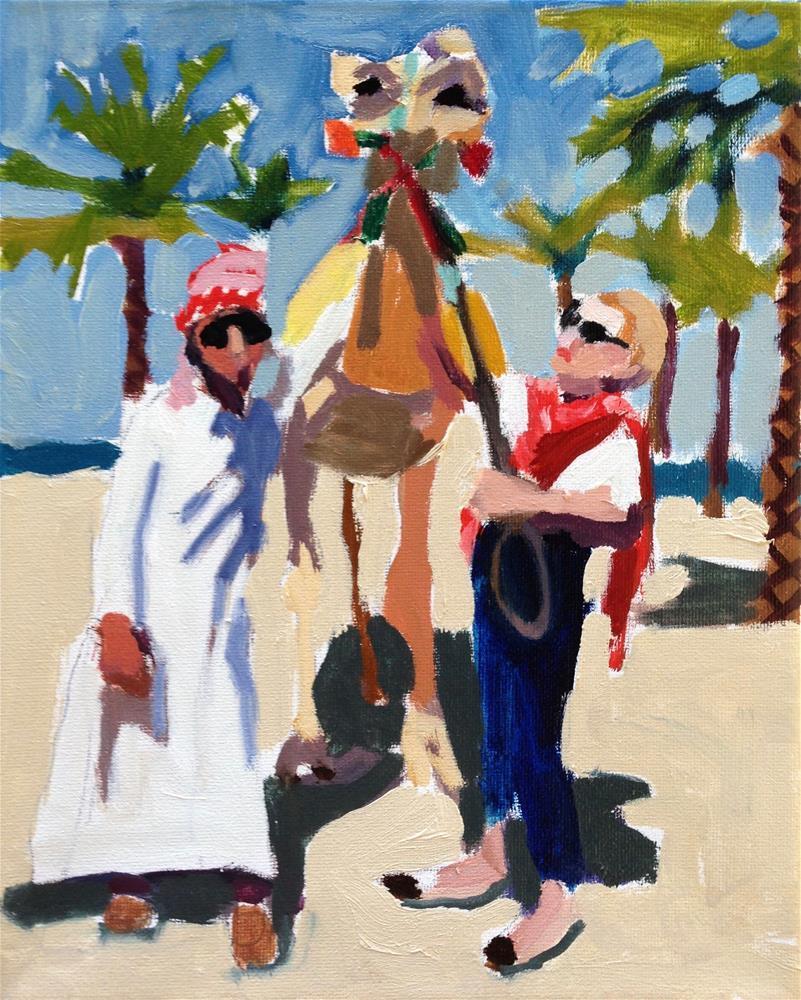 """Intrepid Traveler"" original fine art by Pamela Hoffmeister"