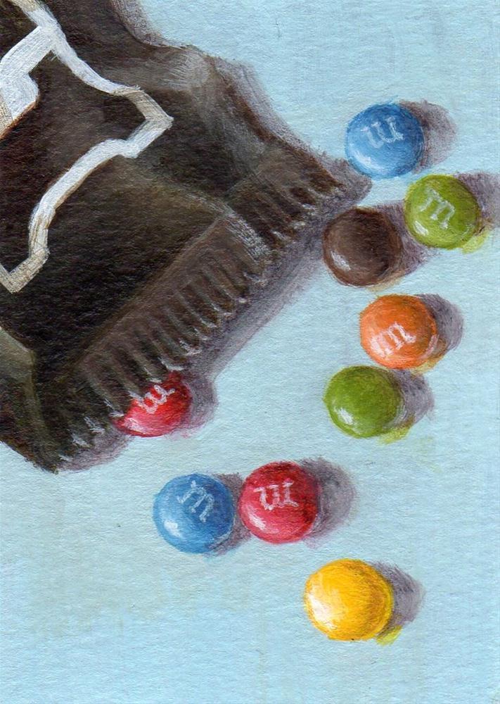 """Candy Colors"" original fine art by Debbie Shirley"