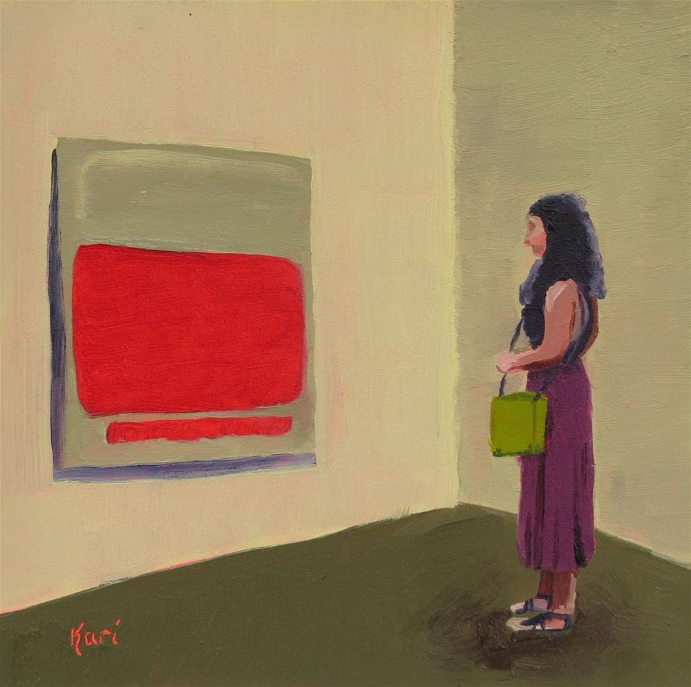 """Smitten With Rothko"" original fine art by Kari Melen"