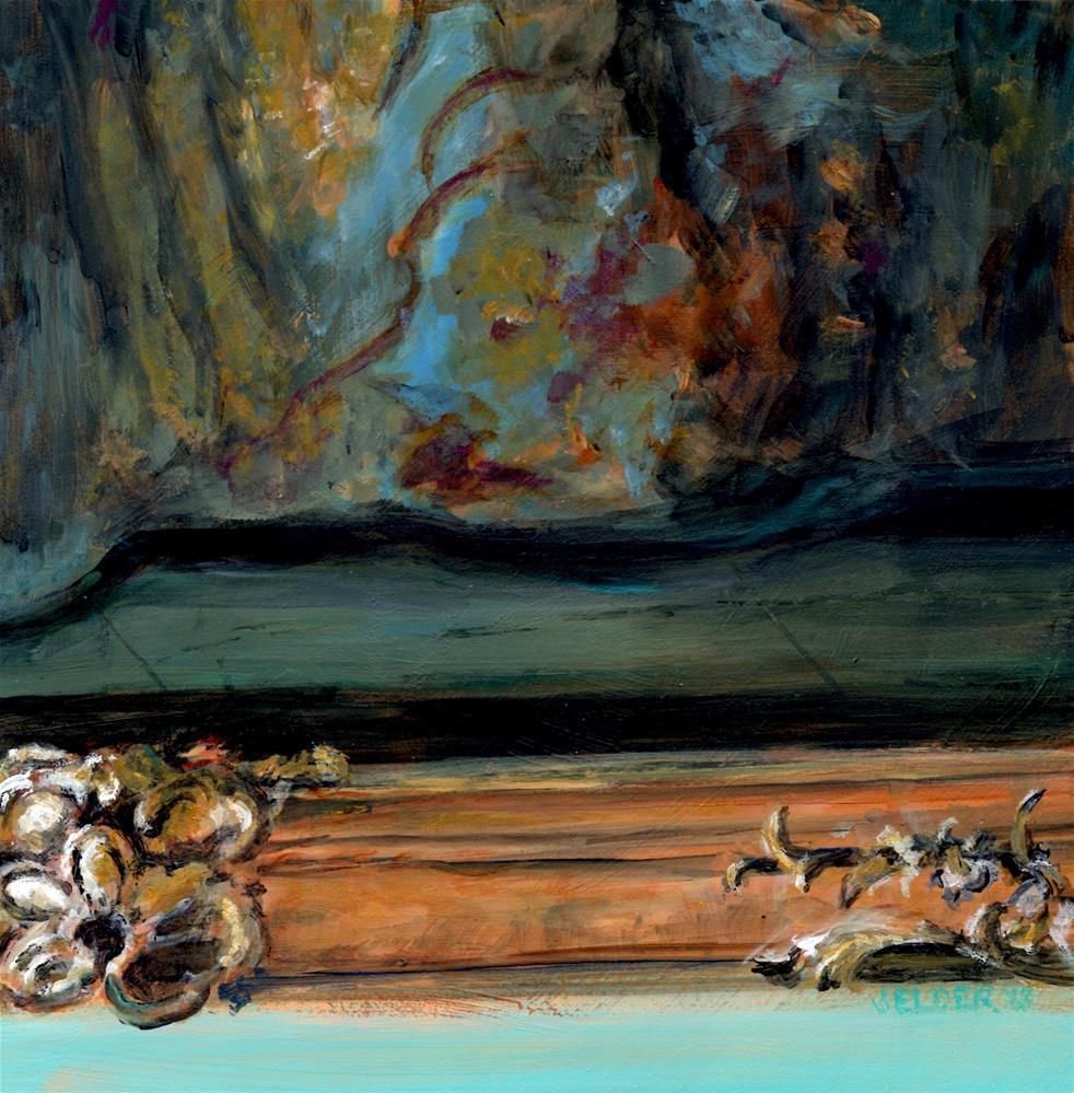 """Versailles No. 9, Marie's Hem"" original fine art by Judith Elder"