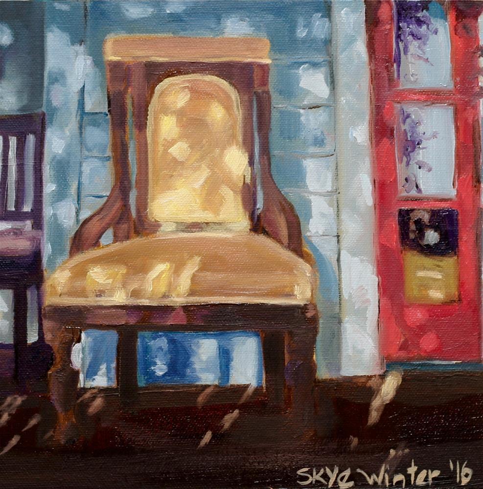 """Spoon's Place"" original fine art by Skye Coddington"