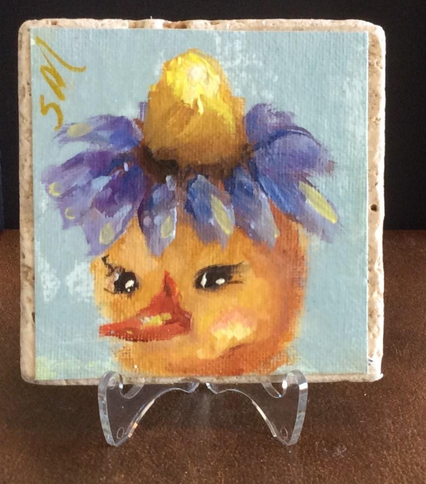"""Daisy Mae"" original fine art by Susie Monzingo"
