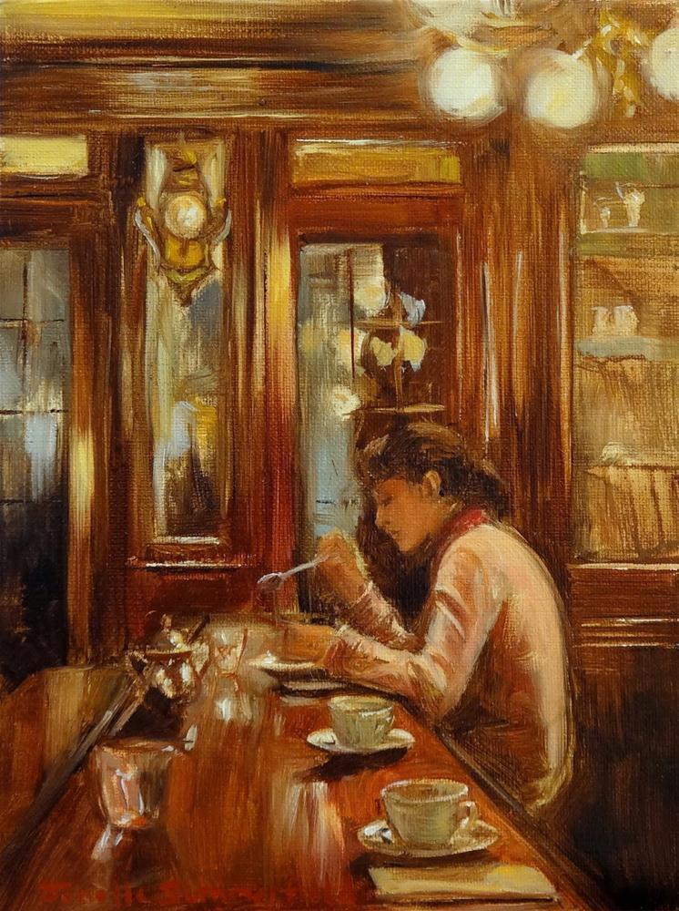 """Demel of Vienna"" original fine art by Jonelle Summerfield"
