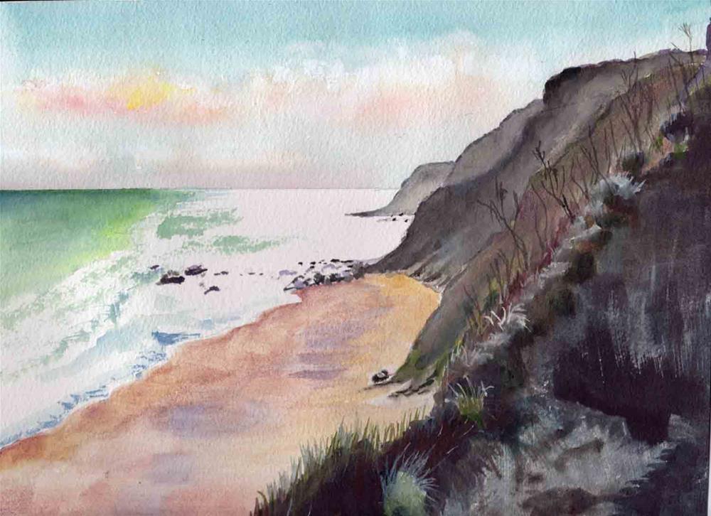 """""""Bluffs"""" original fine art by Bunny Griffeth"""