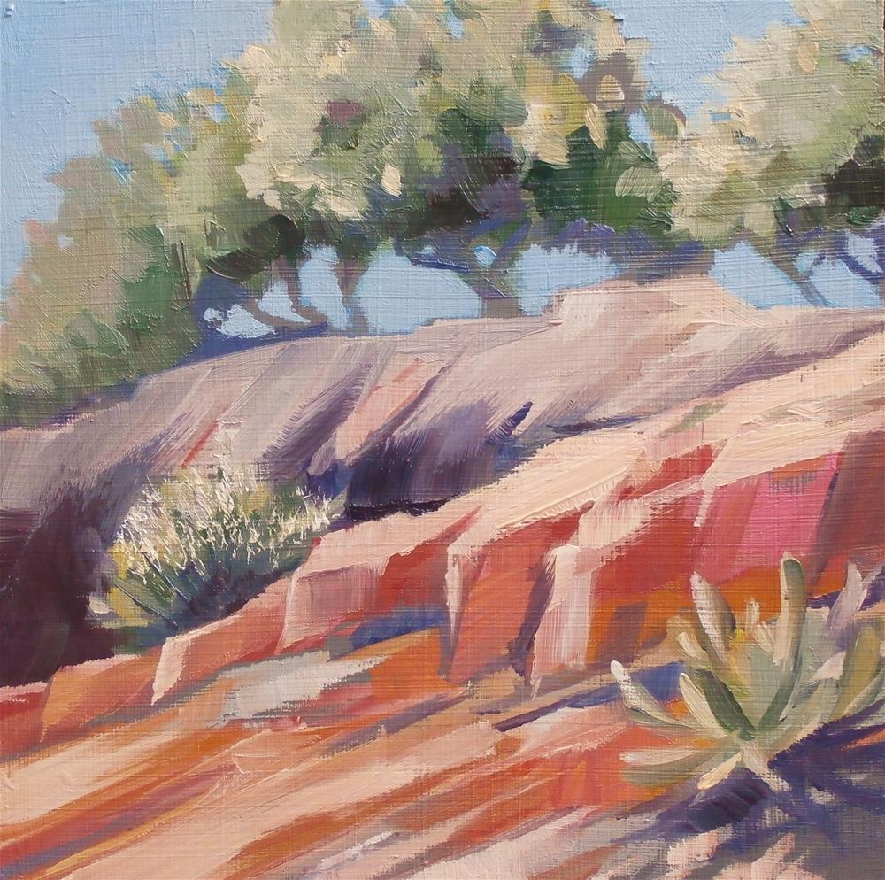 """Enchanted Rock #1"" original fine art by Carla Gauthier"