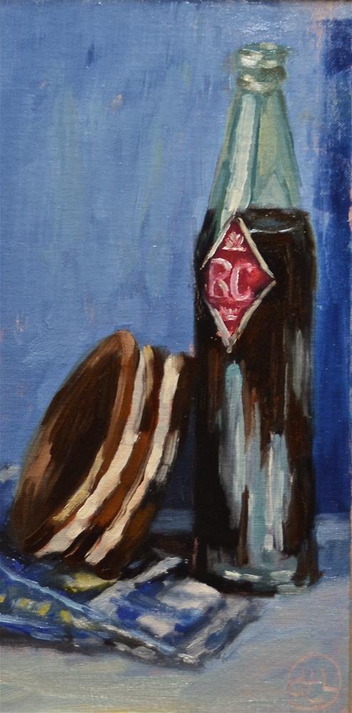 """""""sentimental sidekicks"""" original fine art by Dottie  T  Leatherwood"""