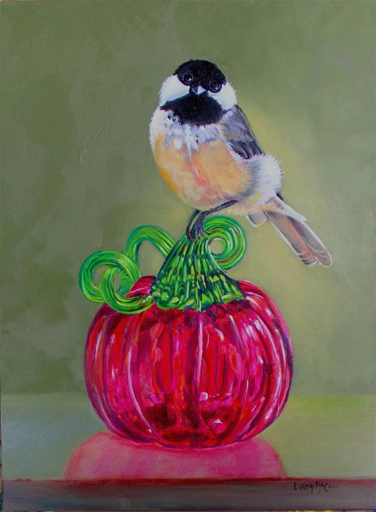 """The Fledgling"" original fine art by Linda McCoy"