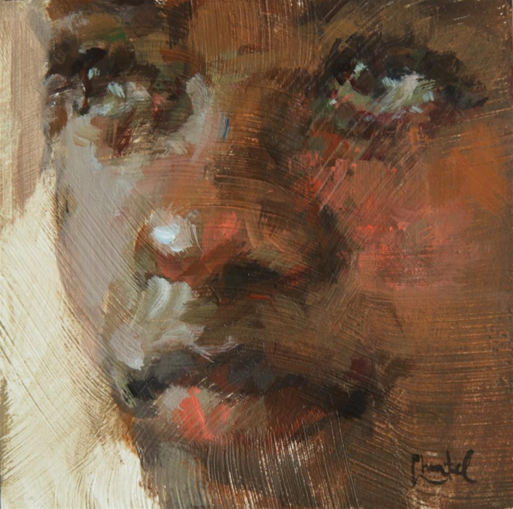 """""""What I See"""" original fine art by Chantel Barber"""